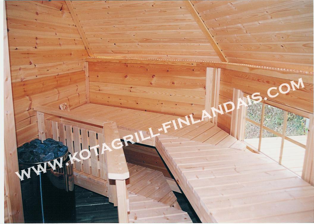 kota mixte sauna grill. Black Bedroom Furniture Sets. Home Design Ideas